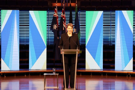 Professor Michelle Simmons delivers the Australia Day Address at the Sydney Conservatorium of Music on 24 January 2017