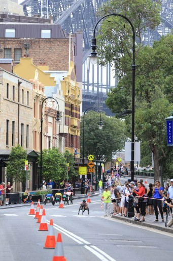 28th Annual GIO Oz Day 10K Wheelchair Race in the Rocks on Australia Day