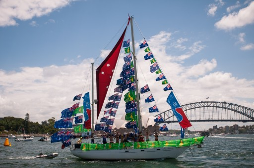 Australia Day Harbour Parade 2016: 3rd place - Wunderlust