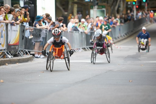 GIO Oz Day 10k Wheelchair Race