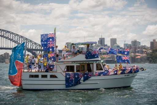 Australia Day Harbour Parade 2016: 2nd place - Buccaneer